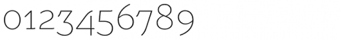 Weitalic Extra Light Font OTHER CHARS