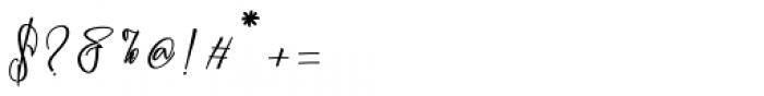Wellington Regular Font OTHER CHARS