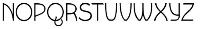 Wellmere Sans Light Font UPPERCASE