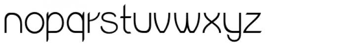 Wellmere Sans Light Font LOWERCASE
