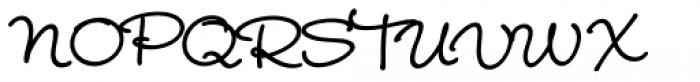 Wendy Std Bold Font UPPERCASE
