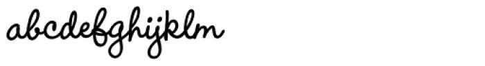 Wendy Std Bold Font LOWERCASE