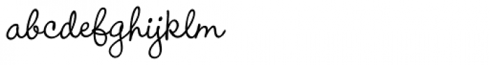 Wendy Std Medium Font LOWERCASE