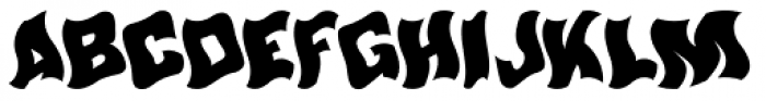 Werble JNL Font UPPERCASE