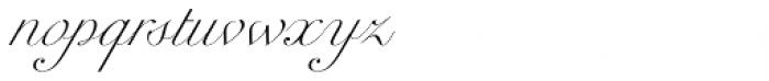 Werdet Script Light Font LOWERCASE