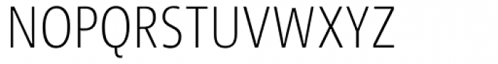 Werk Condensed LF Light Font UPPERCASE