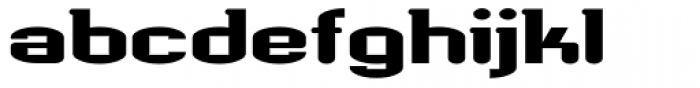 Werkman Regurge Font LOWERCASE