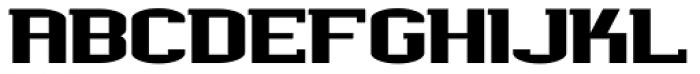 Werkman Square Font UPPERCASE