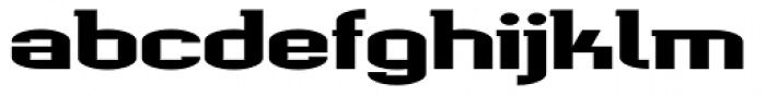 Werkman Square Font LOWERCASE