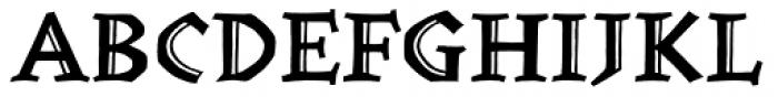 Werkstatt Engraved Font UPPERCASE