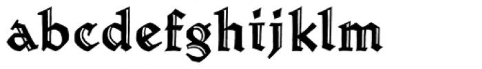 Werkstatt Engraved Font LOWERCASE