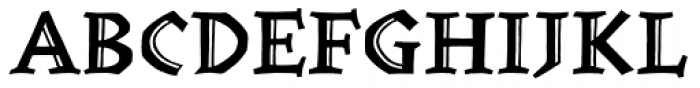 Werkstatt Std Engraved Font UPPERCASE