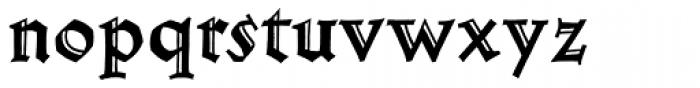 Werkstatt Std Engraved Font LOWERCASE