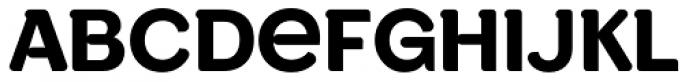 Wesley SRF Font UPPERCASE