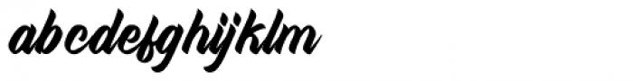 West Kingdom Regular Font LOWERCASE