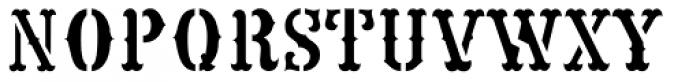 Western Adventure JNL Font UPPERCASE