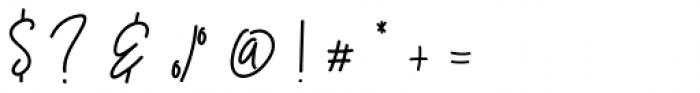 Westey Regular Font OTHER CHARS