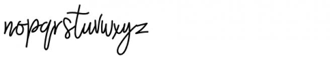 Westey Regular Font LOWERCASE