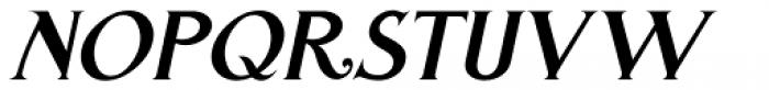 Westfield Nouveau JNL Oblique Font UPPERCASE