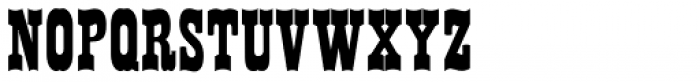 Westward JNL Font UPPERCASE