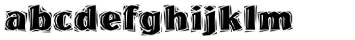 Westwood Font LOWERCASE