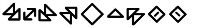 Wevli Dingbats Medium Font OTHER CHARS