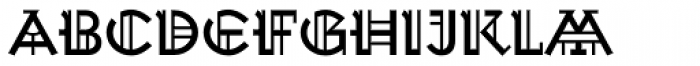 Wexford Oakley Regular Font UPPERCASE