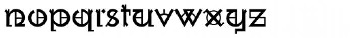 Wexford Oakley Regular Font LOWERCASE
