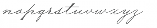 Wedding Bold Font LOWERCASE