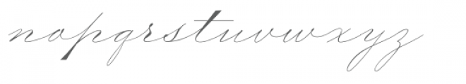 Wedding Medium Regular Font LOWERCASE
