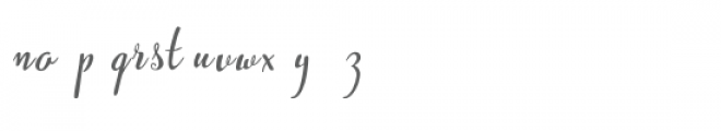 Westyler Font LOWERCASE