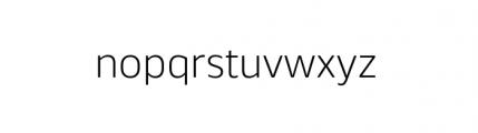 Webnar Light Font LOWERCASE