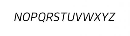 Webnar Regular Italic Font UPPERCASE