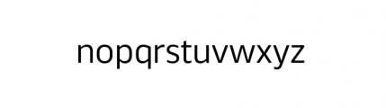 Webnar Regular Font LOWERCASE