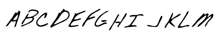 Wendle Regular Font UPPERCASE