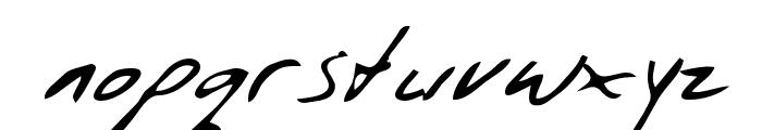 Wendle Regular Font LOWERCASE