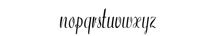Westfield-CondensedRegular Font LOWERCASE
