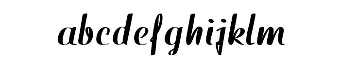 WestfieldBold Font LOWERCASE