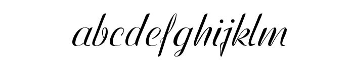 WestfieldItalic Font LOWERCASE