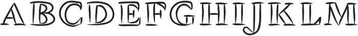 WGTangerine ttf (400) Font LOWERCASE