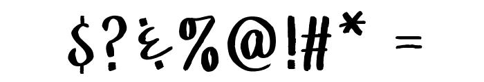 WGTreeline Font OTHER CHARS
