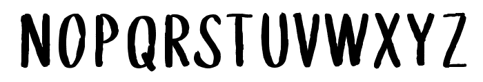 WGTreeline Font UPPERCASE