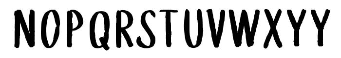 WGTreeline Font LOWERCASE