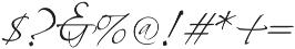 Whartillax Regular otf (400) Font OTHER CHARS