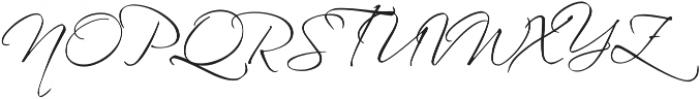 Whartillax Regular otf (400) Font UPPERCASE
