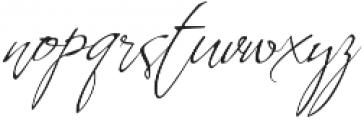 Whartillax Regular otf (400) Font LOWERCASE