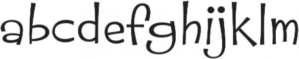 Whipsnapper ExWide Light otf (300) Font LOWERCASE
