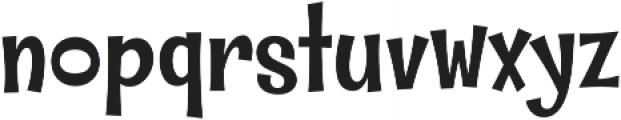 Whipsnapper Medium otf (500) Font LOWERCASE