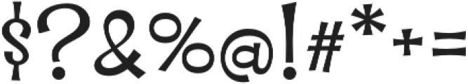 Whipsnapper Wide Regular otf (400) Font OTHER CHARS