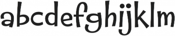 Whipsnapper Wide Regular otf (400) Font LOWERCASE